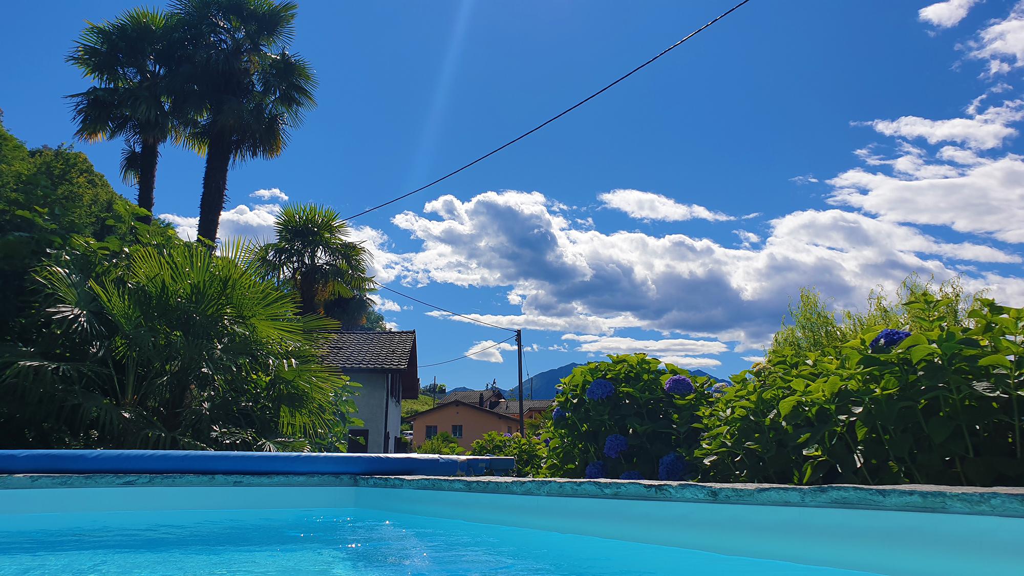 Ferienhaus Tessin mit Pool